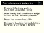 theory of attachment adaptation