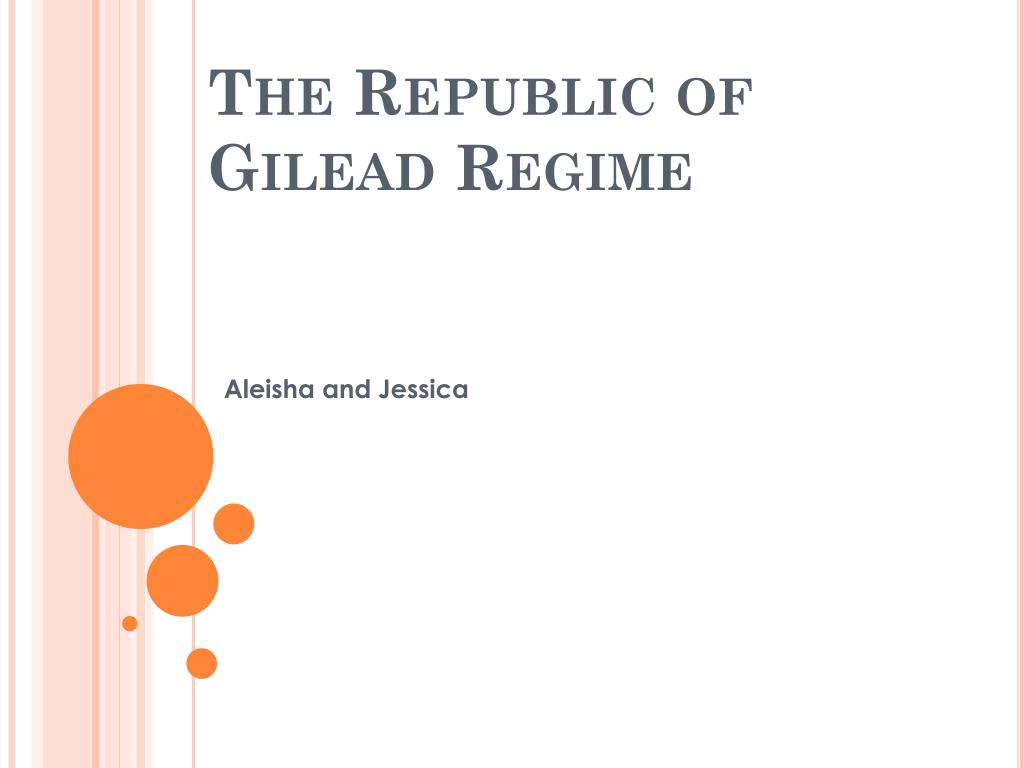 the republic of gilead