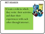 net search