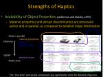 strengths of haptics3
