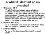 5 what if i don t act on my thoughts