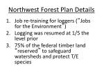 northwest forest plan details