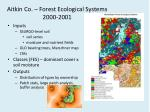 aitkin co forest ecological systems 2000 2001