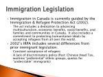 immigration legislation