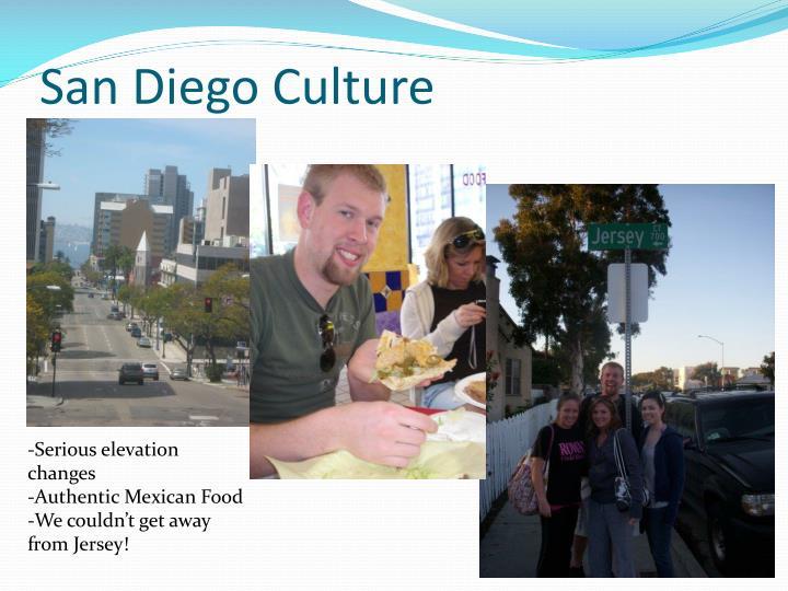 San Diego Culture