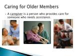 caring for older members1