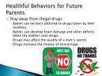 healthful behaviors for future parents3