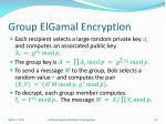 group elgamal encryption4