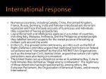 international response1