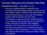 duration measures the interest rate risk3