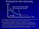 pricing error from convexity