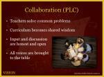 collaboration plc