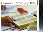 colossians 3 5 7 on page 1834