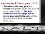 colossians 4 5 6 on page 1835