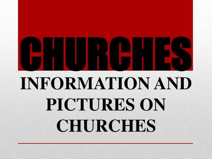 churches n.