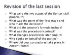 revision of the last session1