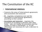 the constitution of the rc8