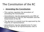 the constitution of the rc9
