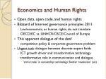economics and human rights