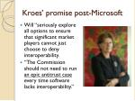 kroes promise post microsoft