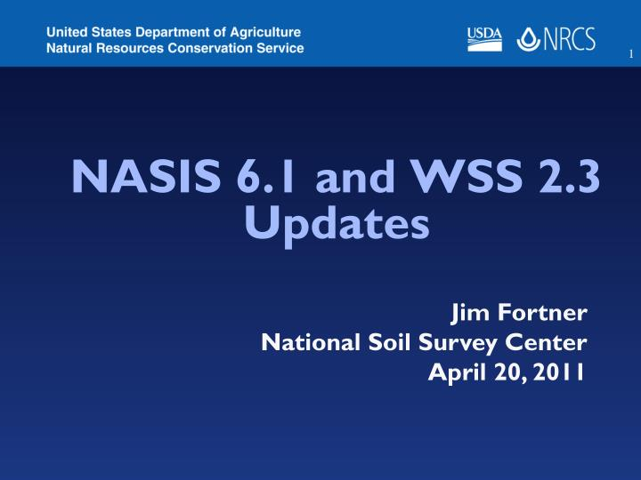nasis 6 1 and wss 2 3 updates n.