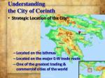 understanding the city of corinth
