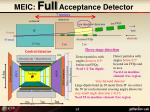 meic full acceptance detector