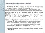 r f rences bibliographiques g n rales