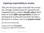 exploring responsibility to society2