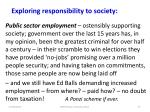 exploring responsibility to society3