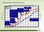 regularization capacity evolution