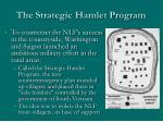 the strategic hamlet program