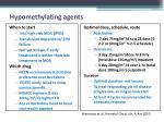 hypomethylating agents2