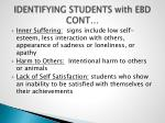 identifying students with ebd cont
