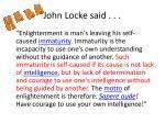 john locke said