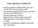how optimal is optimal