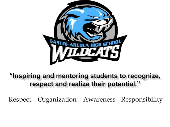 inspiring and mentoring students to recognize respect and realize their potential n.