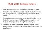 psae 2011 requirements1