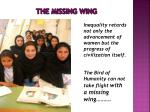 the missing wing