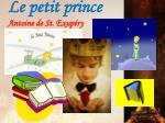 le petit prince antoine de st exup ry