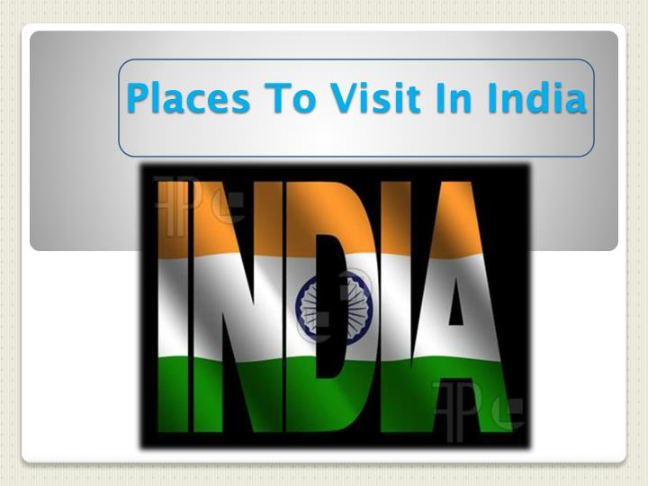 places to visit in india n.