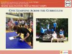 civic learning across the curriculum1