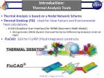 introduction thermal analysis tools