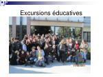 excursions ducatives