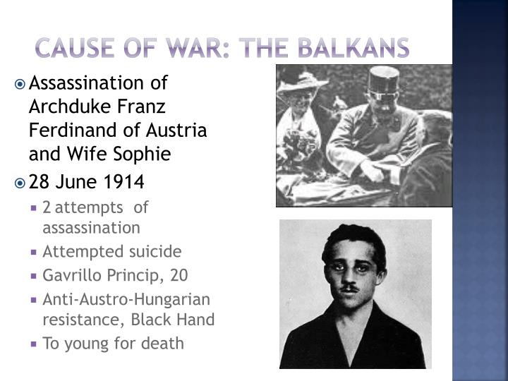 Cause of War: The Balkans