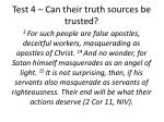 test 4 can their truth sources be trusted