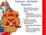 comecon the soviet response