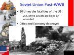 soviet union post wwii