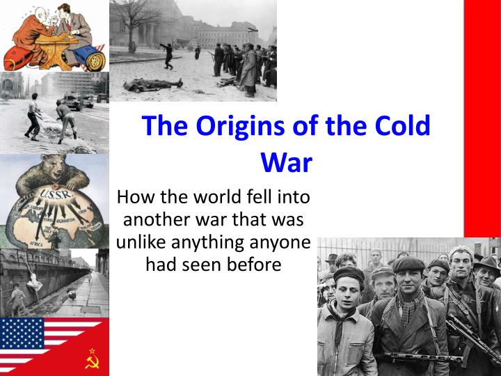 the origins of the cold war n.