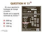question n 51
